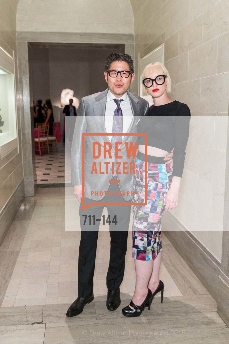 Michael Wong, Zoey Wong, ArtPoint's High Style Cocktail Party, Legion of Honor, June 4th, 2015,Drew Altizer, Drew Altizer Photography, full-service event agency, private events, San Francisco photographer, photographer California