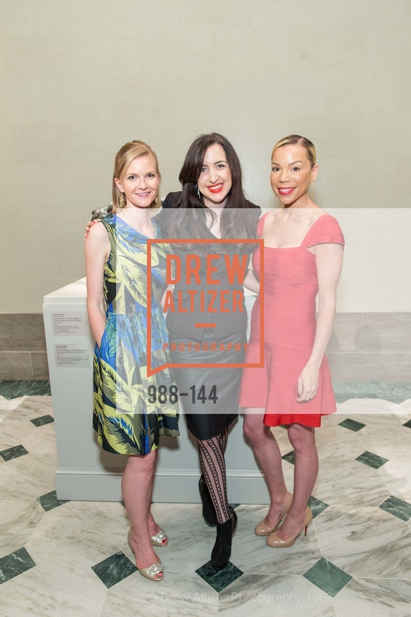 Greer Goings, Shannon Eliot, Julia Mathis, ArtPoint's High Style Cocktail Party, Legion of Honor, June 4th, 2015,Drew Altizer, Drew Altizer Photography, full-service event agency, private events, San Francisco photographer, photographer California