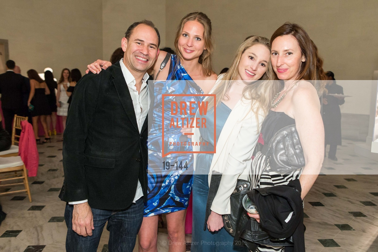 Doug Mandell, Erica Wiclander, Sophia Dermoutz, Kathleen Weber, ArtPoint's High Style Cocktail Party, Legion of Honor, June 4th, 2015,Drew Altizer, Drew Altizer Photography, full-service agency, private events, San Francisco photographer, photographer california