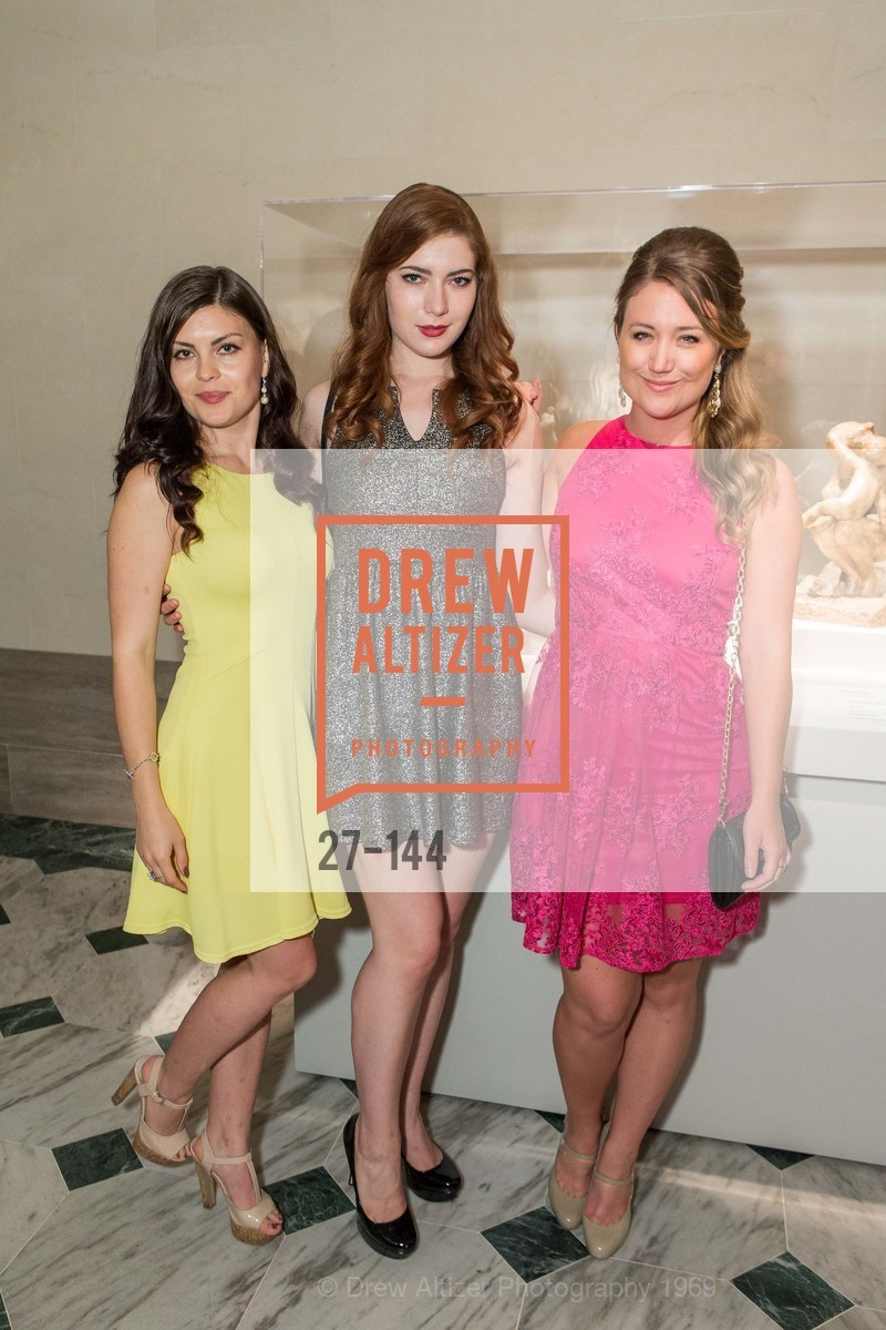 Tatiana Avmanova, Emily Macheny, Noelle Lynne, ArtPoint's High Style Cocktail Party, Legion of Honor, June 4th, 2015,Drew Altizer, Drew Altizer Photography, full-service agency, private events, San Francisco photographer, photographer california