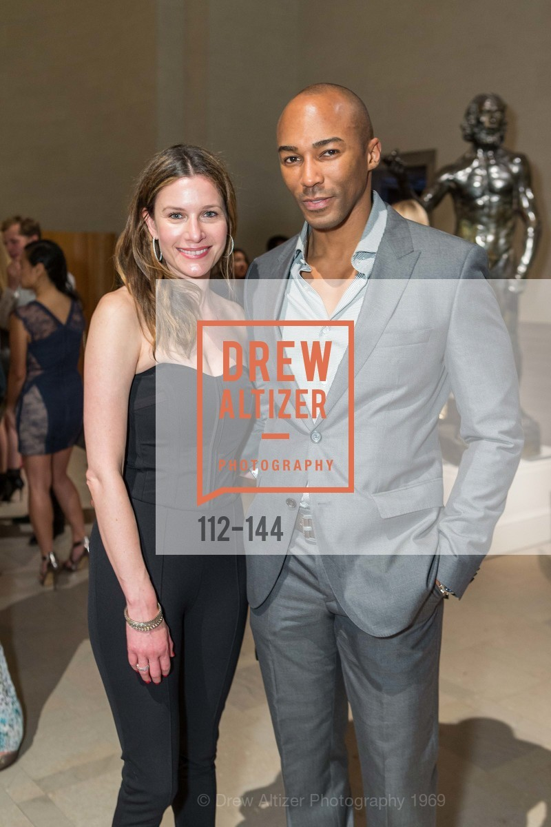 Amy Levins, Michael Ahiakpor, ArtPoint's High Style Cocktail Party, Legion of Honor, June 4th, 2015