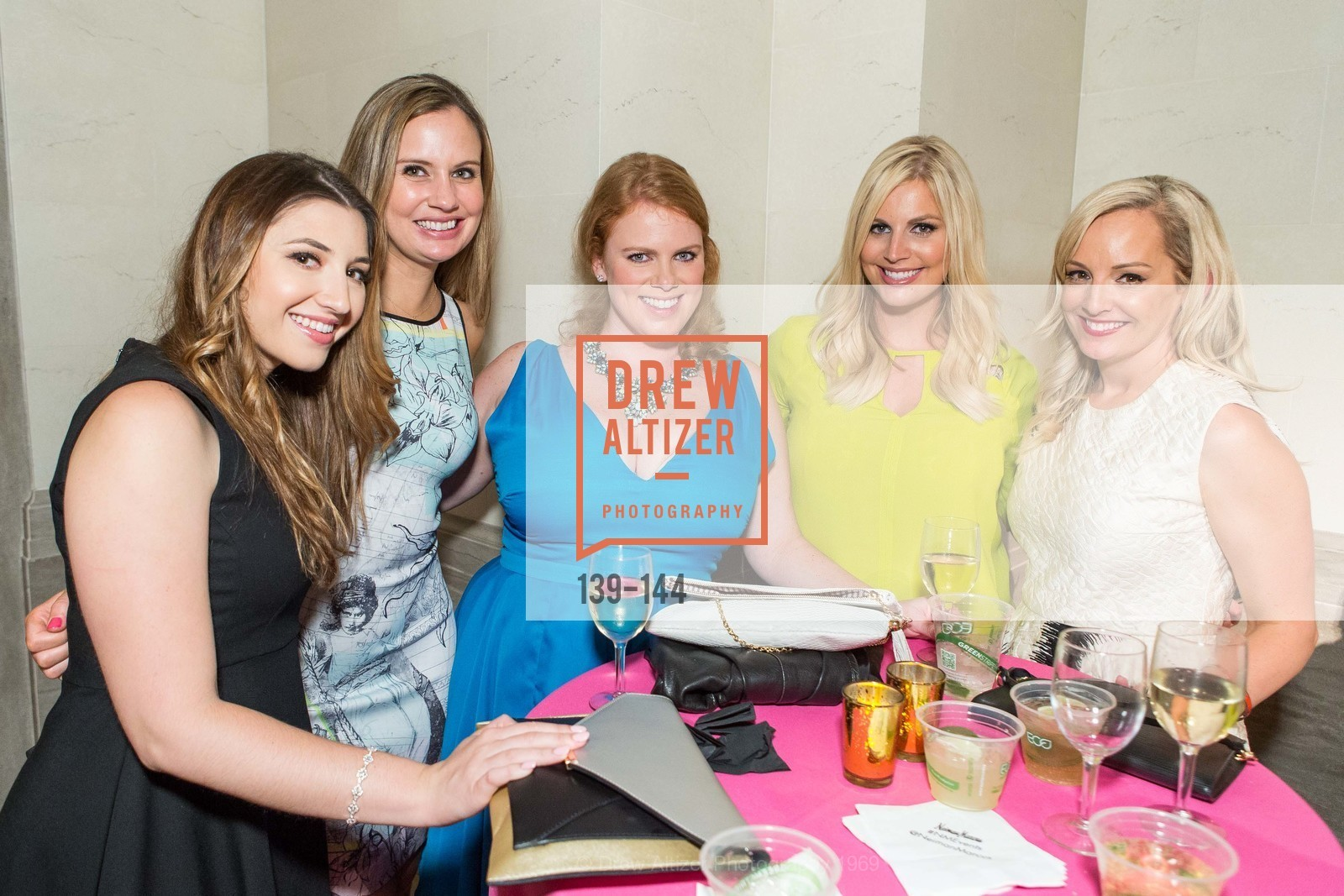Molly Wilson, Morgan Fiske, Ashley Bridges, Elizabeth Wilson, Ariane Nalty, ArtPoint's High Style Cocktail Party, Legion of Honor, June 4th, 2015,Drew Altizer, Drew Altizer Photography, full-service agency, private events, San Francisco photographer, photographer california