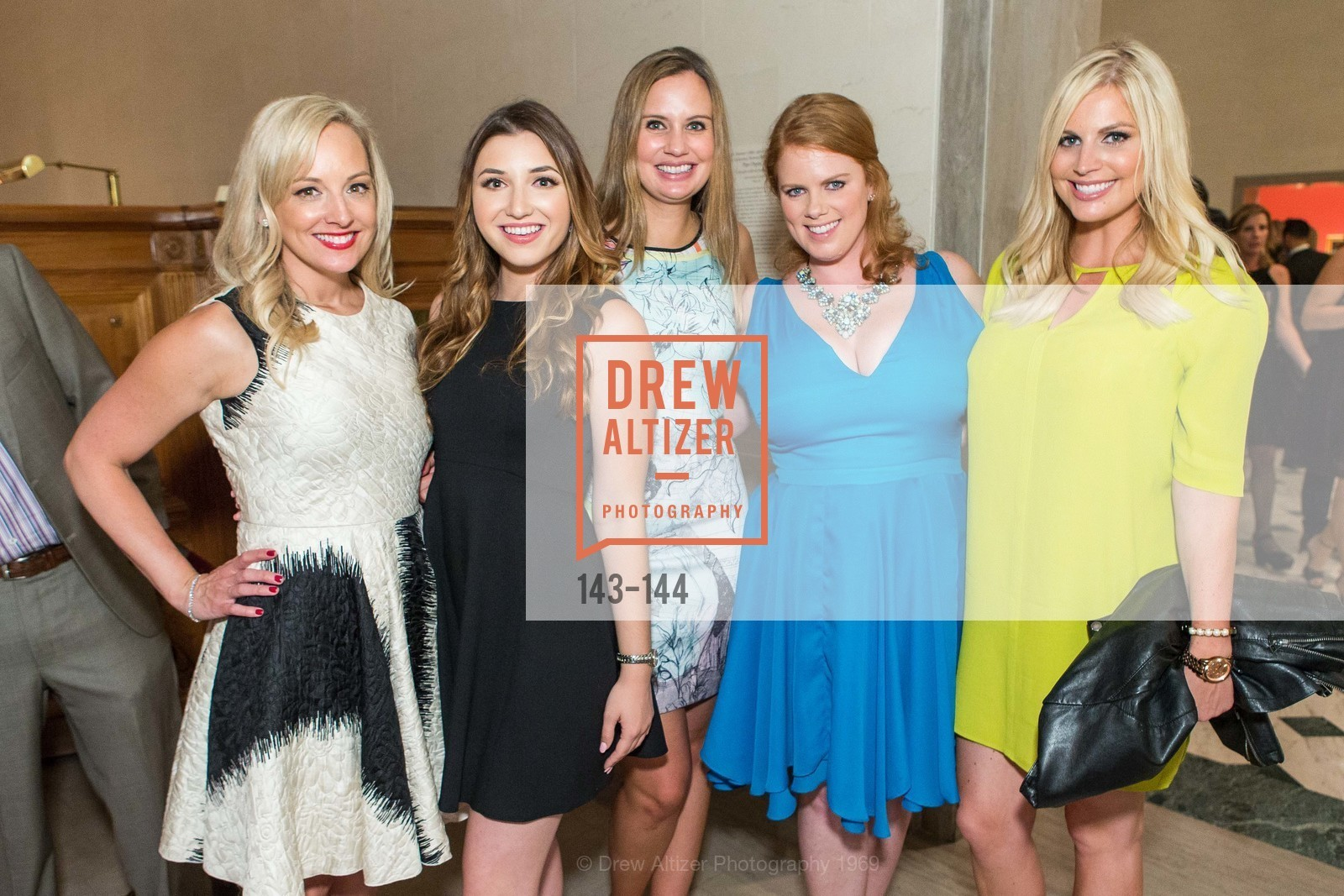 Ariane Nalty, Molly Wilson, Morgan Fiske, Ashely Bridges, Elizabeth Wilson, ArtPoint's High Style Cocktail Party, Legion of Honor, June 4th, 2015,Drew Altizer, Drew Altizer Photography, full-service agency, private events, San Francisco photographer, photographer california