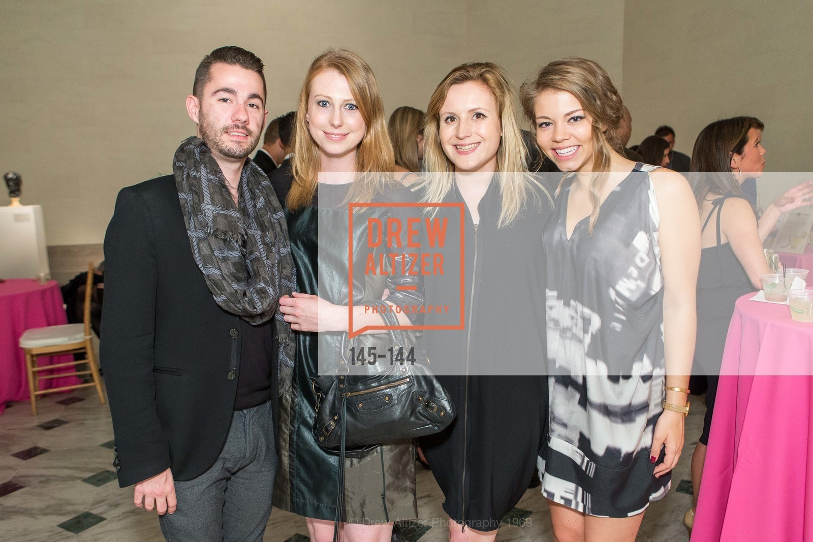 Dimitri Georges, Josie Englin, Chelsea Pilkington, Taylor Richardson, ArtPoint's High Style Cocktail Party, Legion of Honor, June 4th, 2015,Drew Altizer, Drew Altizer Photography, full-service agency, private events, San Francisco photographer, photographer california