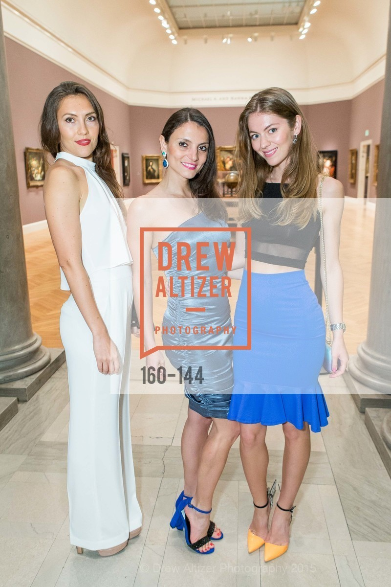 Renata Gesheva, Yulia Mango, ArtPoint's High Style Cocktail Party, Legion of Honor, June 4th, 2015,Drew Altizer, Drew Altizer Photography, full-service agency, private events, San Francisco photographer, photographer california