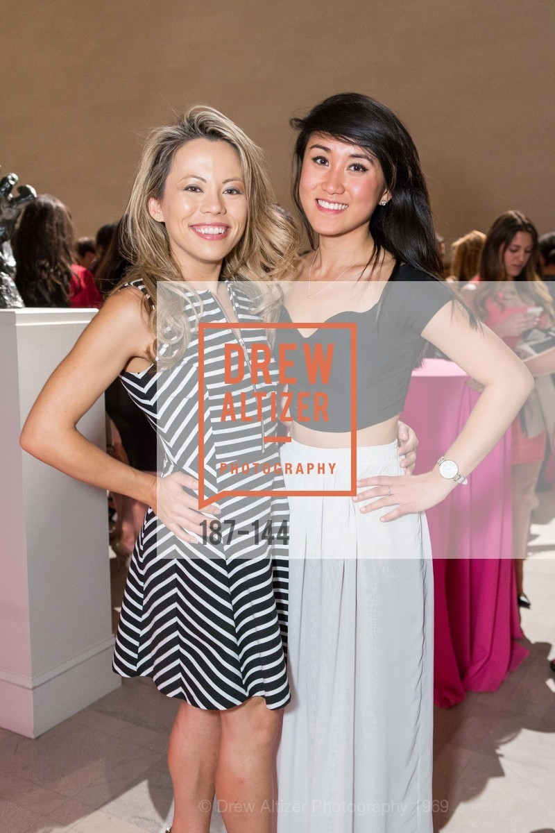 Lisa Melanie, Jennifer Zhao, ArtPoint's High Style Cocktail Party, Legion of Honor, June 4th, 2015,Drew Altizer, Drew Altizer Photography, full-service agency, private events, San Francisco photographer, photographer california