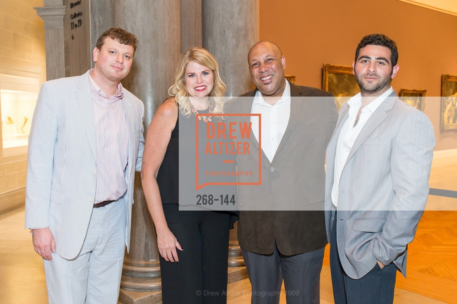Josh Reynolds, Julie Yarbrough, Dan Glover, Jacob Salk, ArtPoint's High Style Cocktail Party, Legion of Honor, June 4th, 2015,Drew Altizer, Drew Altizer Photography, full-service agency, private events, San Francisco photographer, photographer california