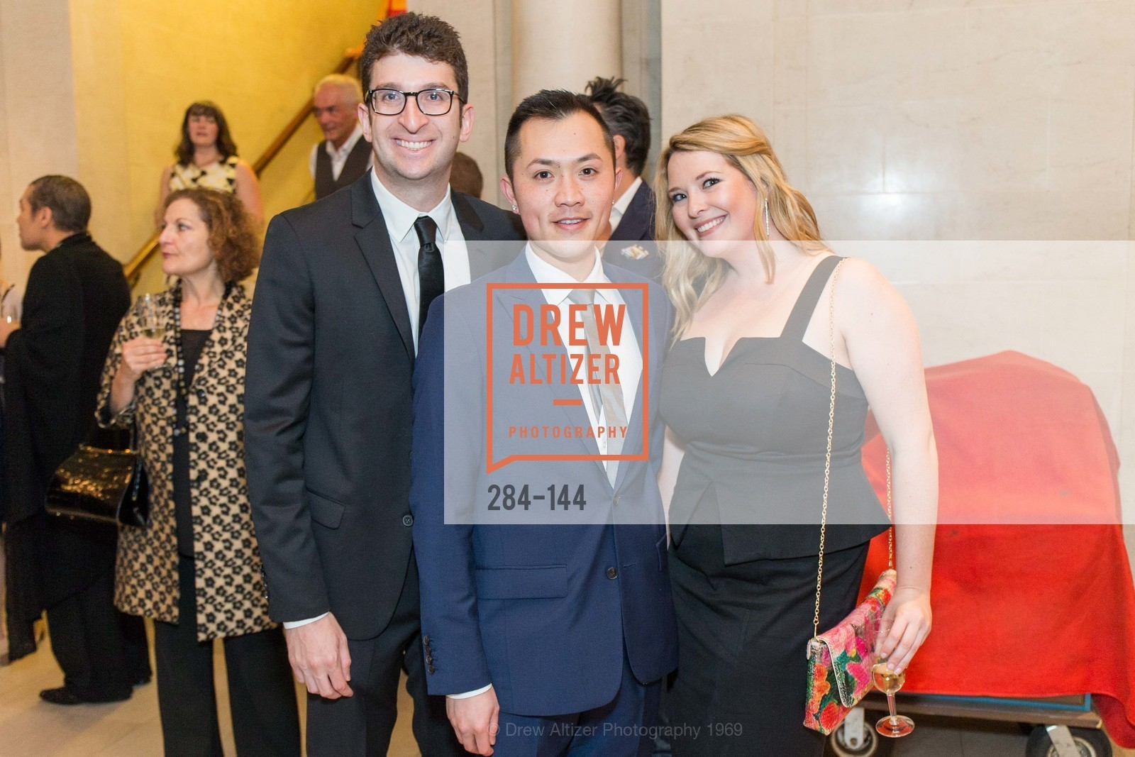 Elliot Fruchtman, Alan Fong, Sarah Welch, ArtPoint's High Style Cocktail Party, Legion of Honor, June 4th, 2015,Drew Altizer, Drew Altizer Photography, full-service agency, private events, San Francisco photographer, photographer california