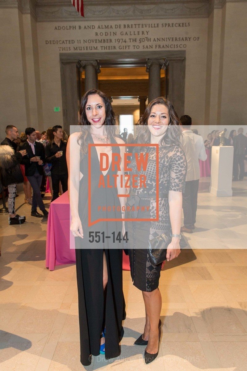 Amanda Carlson, Megan Cesare, ArtPoint's High Style Cocktail Party, Legion of Honor, June 4th, 2015,Drew Altizer, Drew Altizer Photography, full-service agency, private events, San Francisco photographer, photographer california