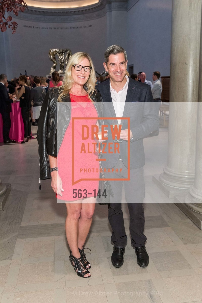 Katherine Ryan Weiss, Ted Weiss, ArtPoint's High Style Cocktail Party, Legion of Honor, June 4th, 2015,Drew Altizer, Drew Altizer Photography, full-service agency, private events, San Francisco photographer, photographer california