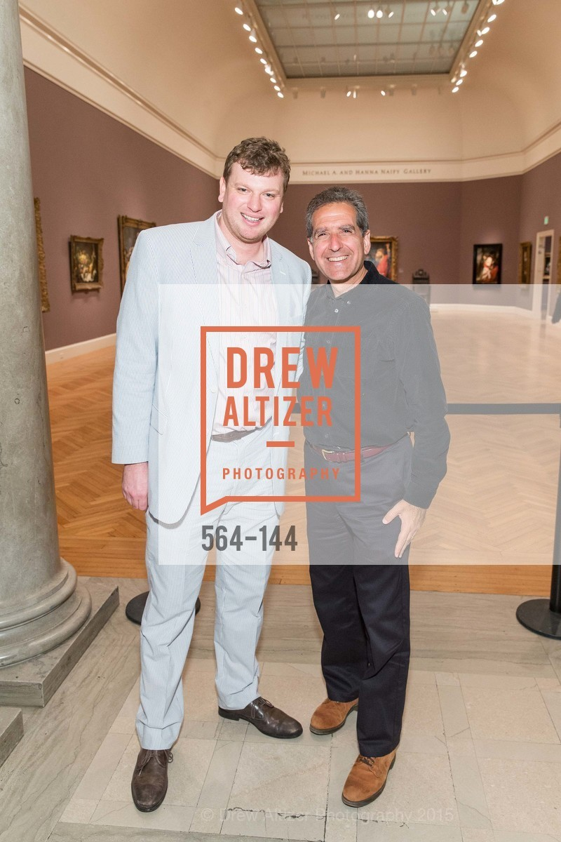 Josh Reynolds, Murray Indick, ArtPoint's High Style Cocktail Party, Legion of Honor, June 4th, 2015