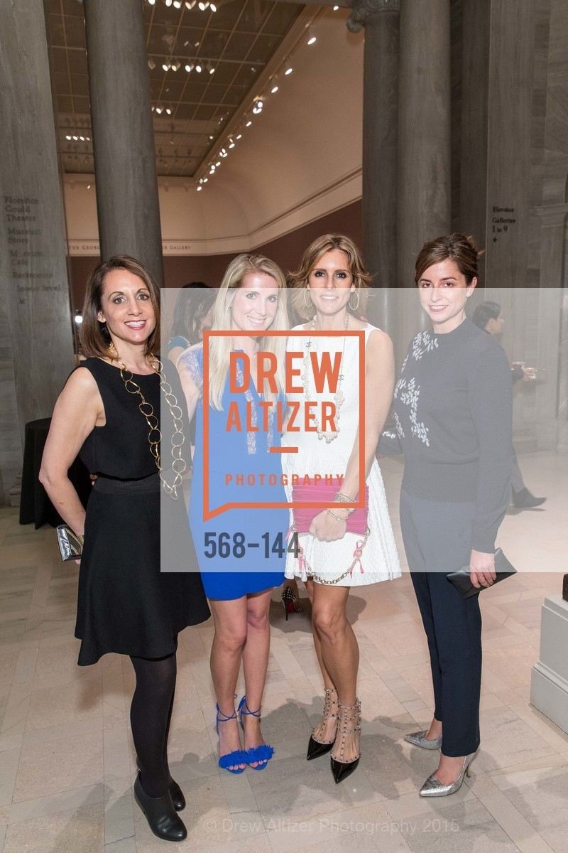 Marianne Baldrica, Samantha Hartwell, Susan Blanco, Emily Holt, ArtPoint's High Style Cocktail Party, Legion of Honor, June 4th, 2015,Drew Altizer, Drew Altizer Photography, full-service agency, private events, San Francisco photographer, photographer california