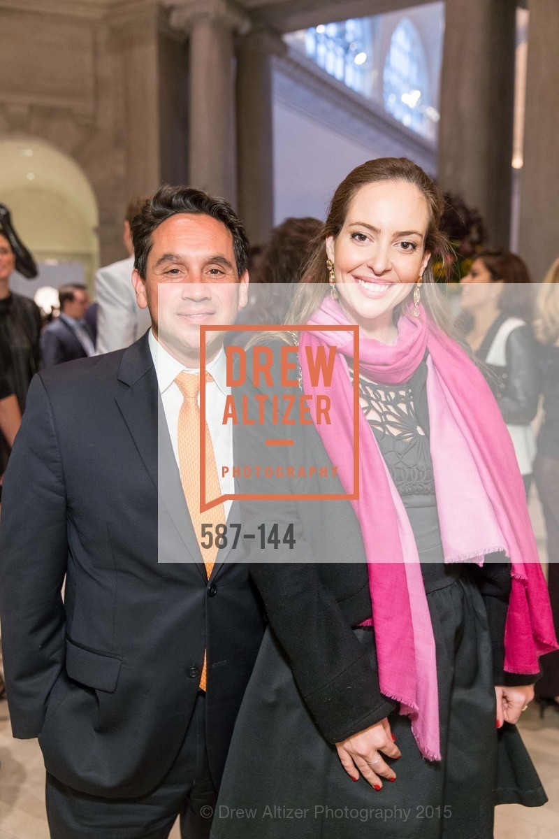 Frank Alizaga, Carolina Pascowitch, ArtPoint's High Style Cocktail Party, Legion of Honor, June 4th, 2015,Drew Altizer, Drew Altizer Photography, full-service agency, private events, San Francisco photographer, photographer california