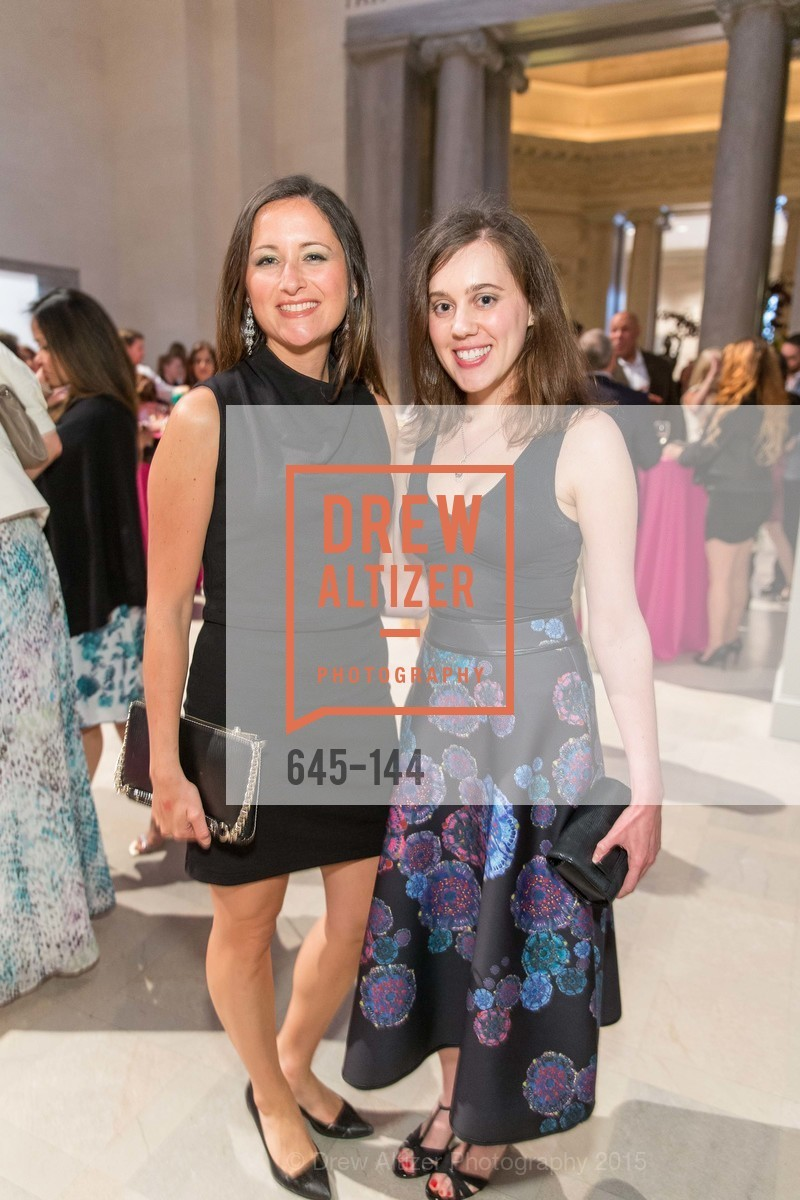 Eliana Monti, Alissa Merksamer, ArtPoint's High Style Cocktail Party, Legion of Honor, June 4th, 2015,Drew Altizer, Drew Altizer Photography, full-service agency, private events, San Francisco photographer, photographer california