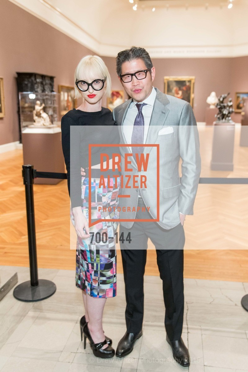 Zoey Wong, Michael Wong, ArtPoint's High Style Cocktail Party, Legion of Honor, June 4th, 2015,Drew Altizer, Drew Altizer Photography, full-service event agency, private events, San Francisco photographer, photographer California