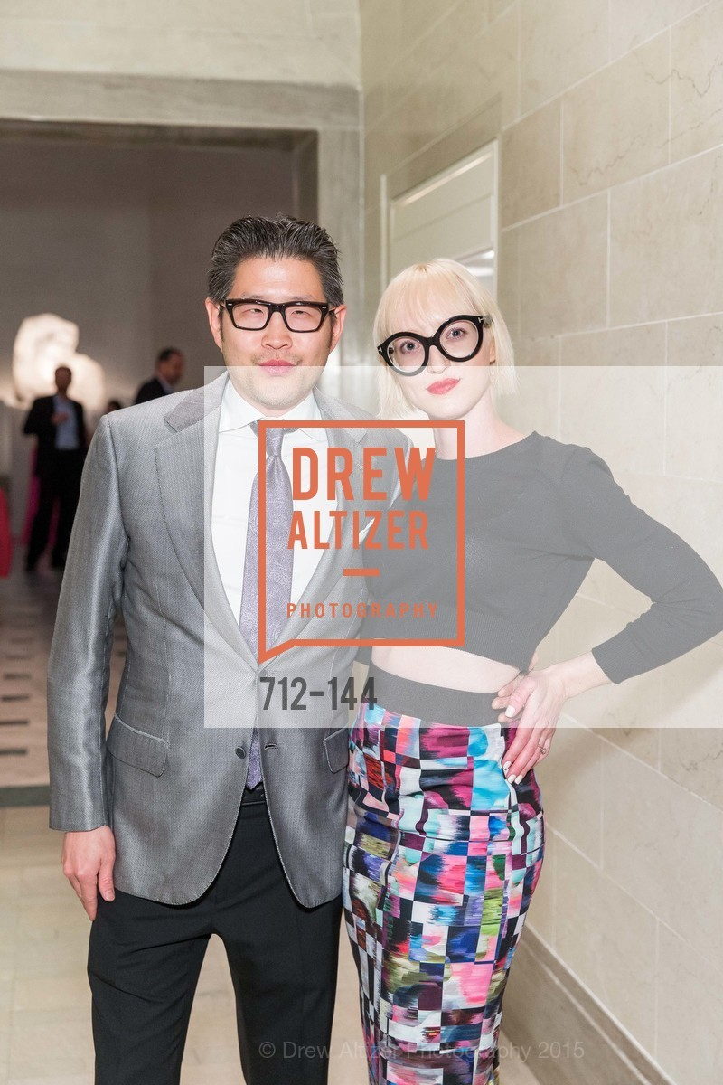 Michael Wong, Zoey Wong, ArtPoint's High Style Cocktail Party, Legion of Honor, June 4th, 2015,Drew Altizer, Drew Altizer Photography, full-service agency, private events, San Francisco photographer, photographer california