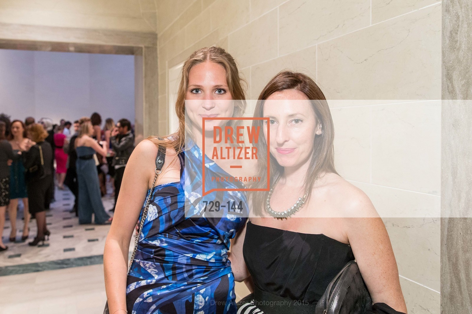 Erica Wiclander, Kathleen Weber, ArtPoint's High Style Cocktail Party, Legion of Honor, June 4th, 2015,Drew Altizer, Drew Altizer Photography, full-service agency, private events, San Francisco photographer, photographer california