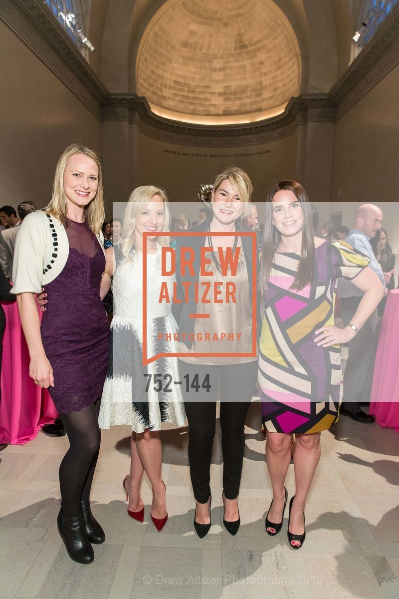 Melita Jampol, Ariane Nalty, Kate Gorrissen, Amanda Riley, ArtPoint's High Style Cocktail Party, Legion of Honor, June 4th, 2015,Drew Altizer, Drew Altizer Photography, full-service agency, private events, San Francisco photographer, photographer california