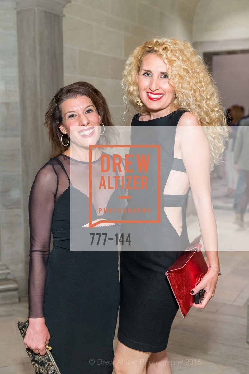 Rebecca Zito, Feliz Caglayan, ArtPoint's High Style Cocktail Party, Legion of Honor, June 4th, 2015,Drew Altizer, Drew Altizer Photography, full-service agency, private events, San Francisco photographer, photographer california