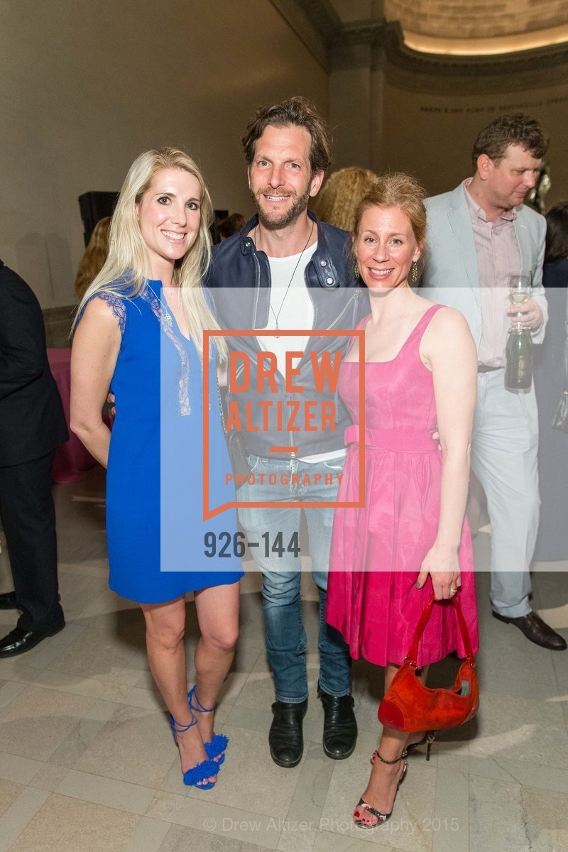 Samantha Hartwell, Seth Miller, Noelle von Tesmar, ArtPoint's High Style Cocktail Party, Legion of Honor, June 4th, 2015,Drew Altizer, Drew Altizer Photography, full-service agency, private events, San Francisco photographer, photographer california