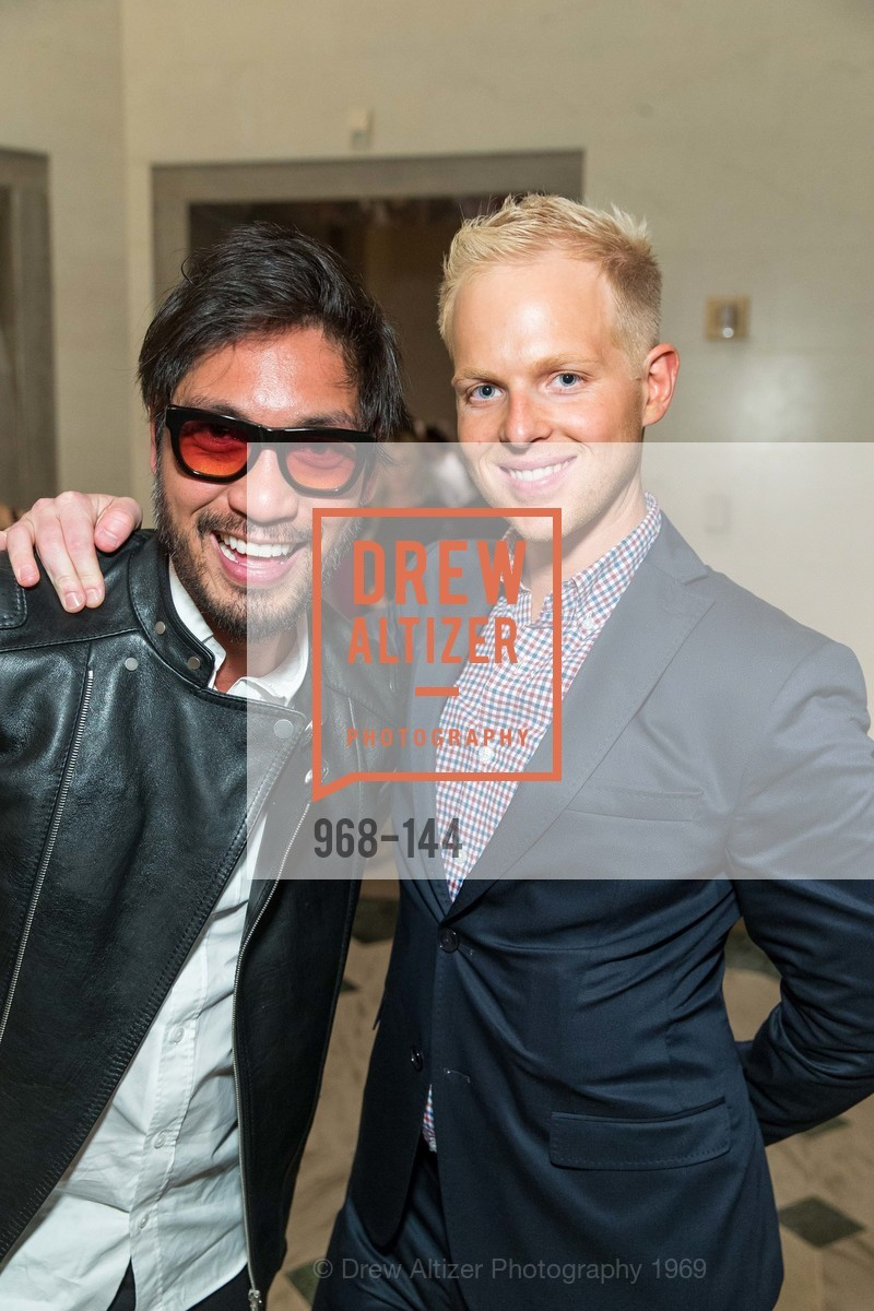 Garie James Cuevas, Casey Richards, ArtPoint's High Style Cocktail Party, Legion of Honor, June 4th, 2015,Drew Altizer, Drew Altizer Photography, full-service agency, private events, San Francisco photographer, photographer california
