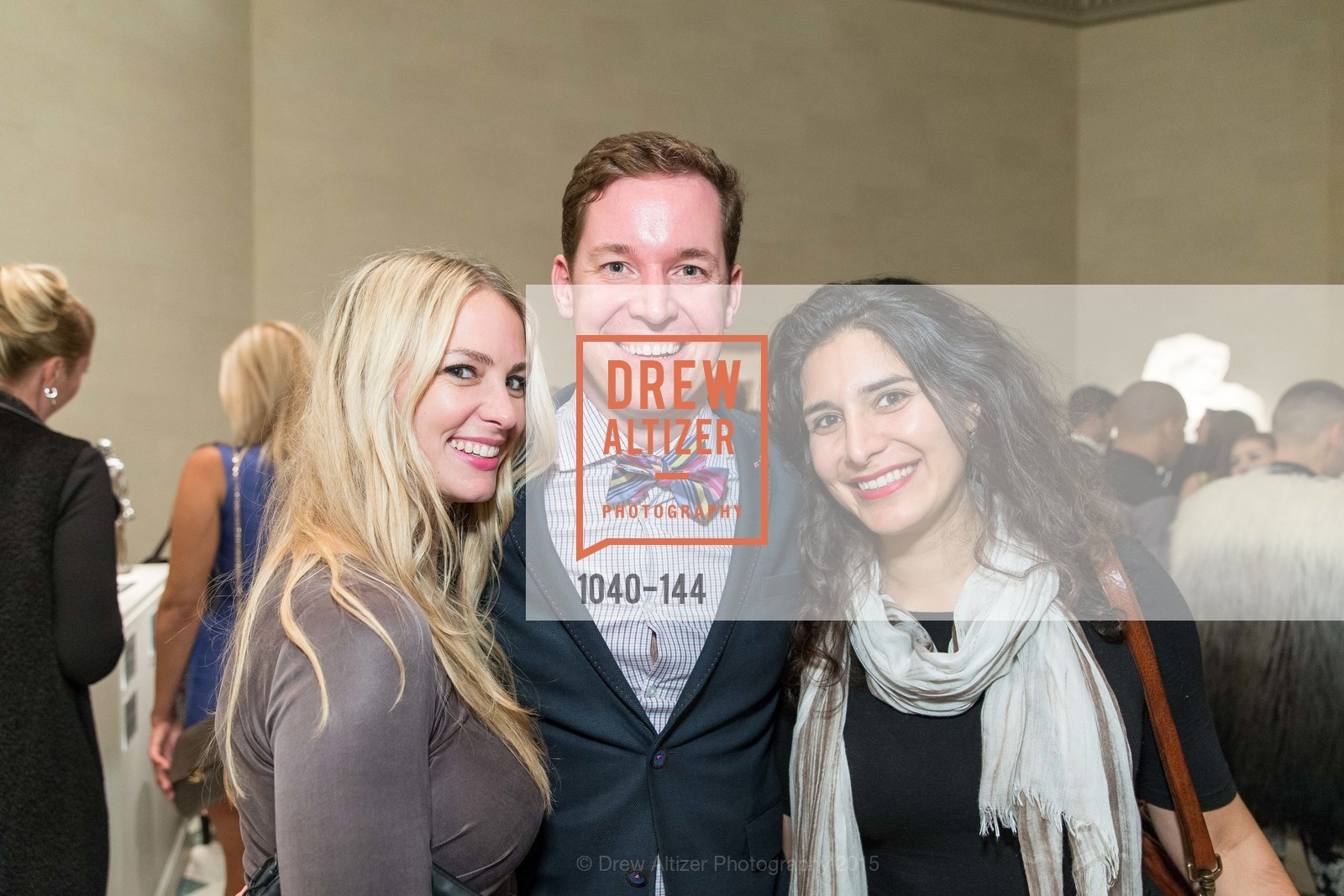 Melissa Jensen, John Griffin, Golbie Kamarei, ArtPoint's High Style Cocktail Party, Legion of Honor, June 4th, 2015,Drew Altizer, Drew Altizer Photography, full-service agency, private events, San Francisco photographer, photographer california