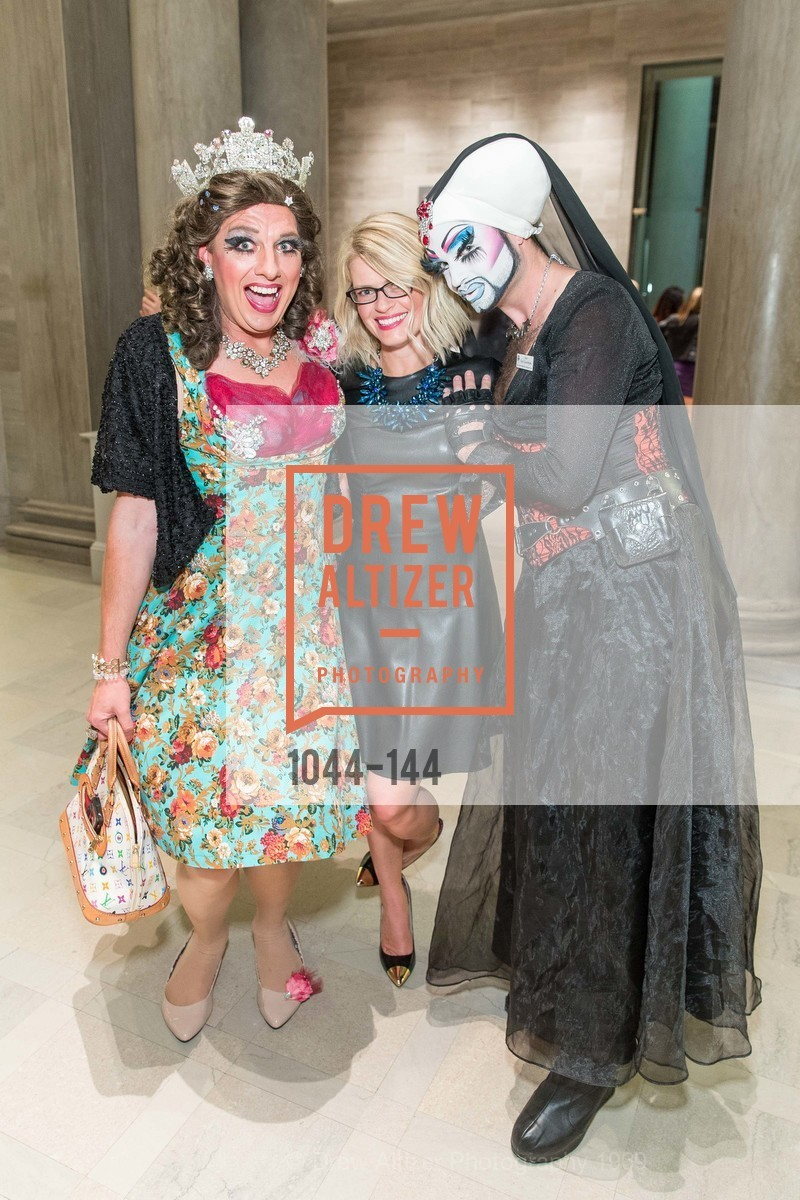 Queen Dilly Dally, Kelly Bushman, Sister Flora Goodthyme, ArtPoint's High Style Cocktail Party, Legion of Honor, June 4th, 2015,Drew Altizer, Drew Altizer Photography, full-service agency, private events, San Francisco photographer, photographer california
