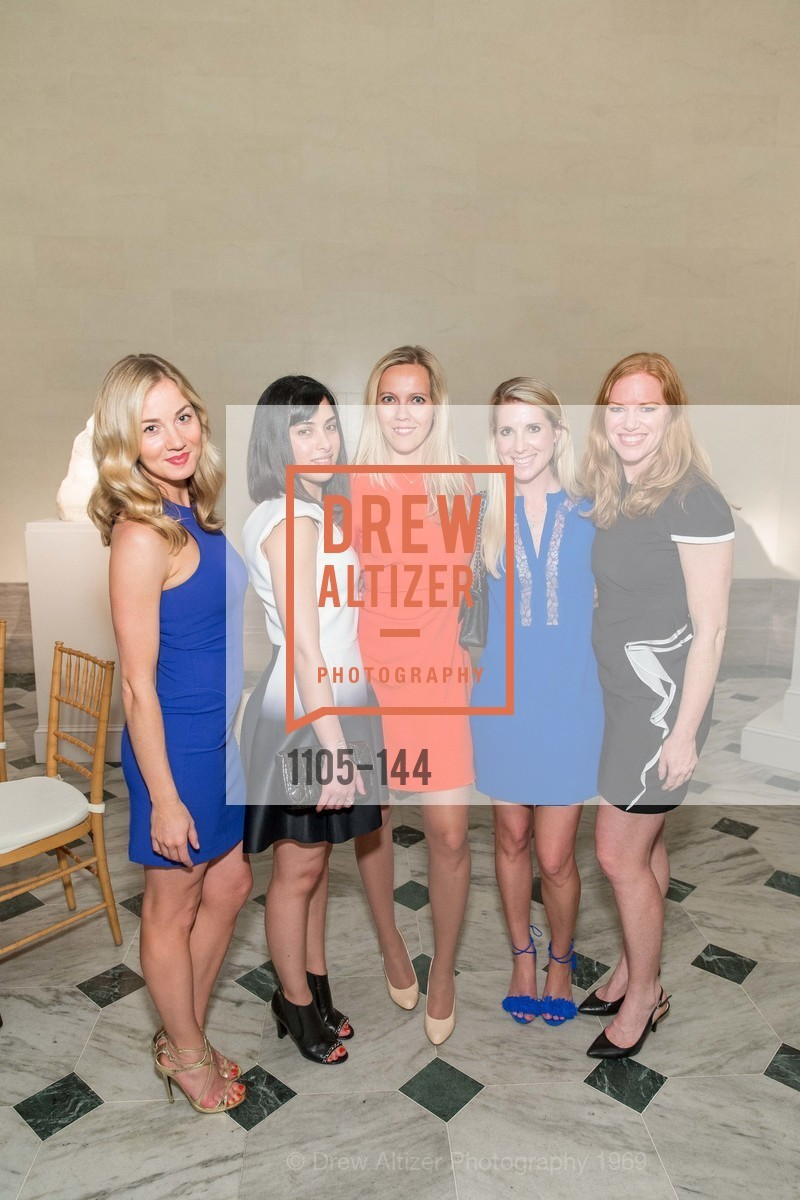 Kristen Stuecher, Oksana Federinko, Samantha Hartwell, Kelly Buchanan, ArtPoint's High Style Cocktail Party, Legion of Honor, June 4th, 2015,Drew Altizer, Drew Altizer Photography, full-service agency, private events, San Francisco photographer, photographer california