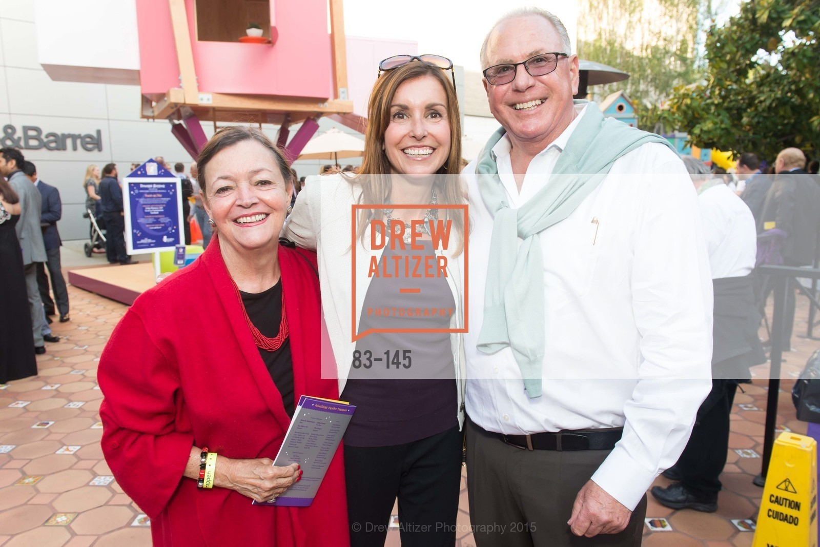 Mary Manno, Monica Graham, David Wollenberg, DREAMS HAPPEN: Playhouse Auction and Gala, Stanford Shopping Center, June 5th, 2015,Drew Altizer, Drew Altizer Photography, full-service agency, private events, San Francisco photographer, photographer california