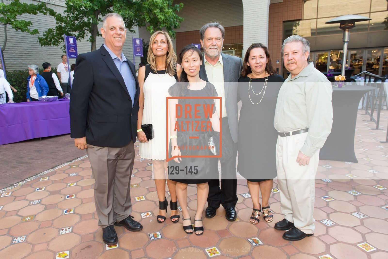 Jerry Karis, Tamara Karis, Maria Ly, Glen Dodds, Teresa Hernandez, Javier Hernandez, DREAMS HAPPEN: Playhouse Auction and Gala, Stanford Shopping Center, June 5th, 2015,Drew Altizer, Drew Altizer Photography, full-service agency, private events, San Francisco photographer, photographer california