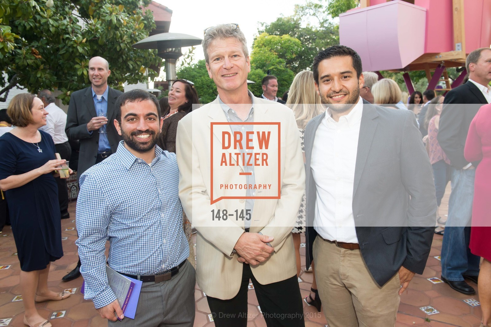 Daniel Maiel, Ken Hayes, Rafael Delgavilla, DREAMS HAPPEN: Playhouse Auction and Gala, Stanford Shopping Center, June 5th, 2015,Drew Altizer, Drew Altizer Photography, full-service agency, private events, San Francisco photographer, photographer california
