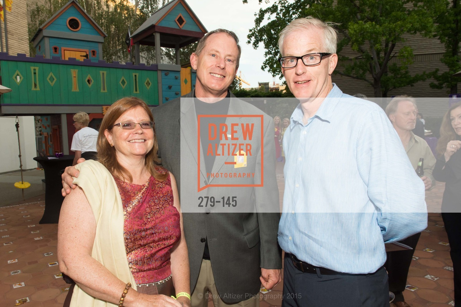 Loretta Gallegos, Gary Ahern, Don Onken, DREAMS HAPPEN: Playhouse Auction and Gala, Stanford Shopping Center, June 5th, 2015,Drew Altizer, Drew Altizer Photography, full-service agency, private events, San Francisco photographer, photographer california