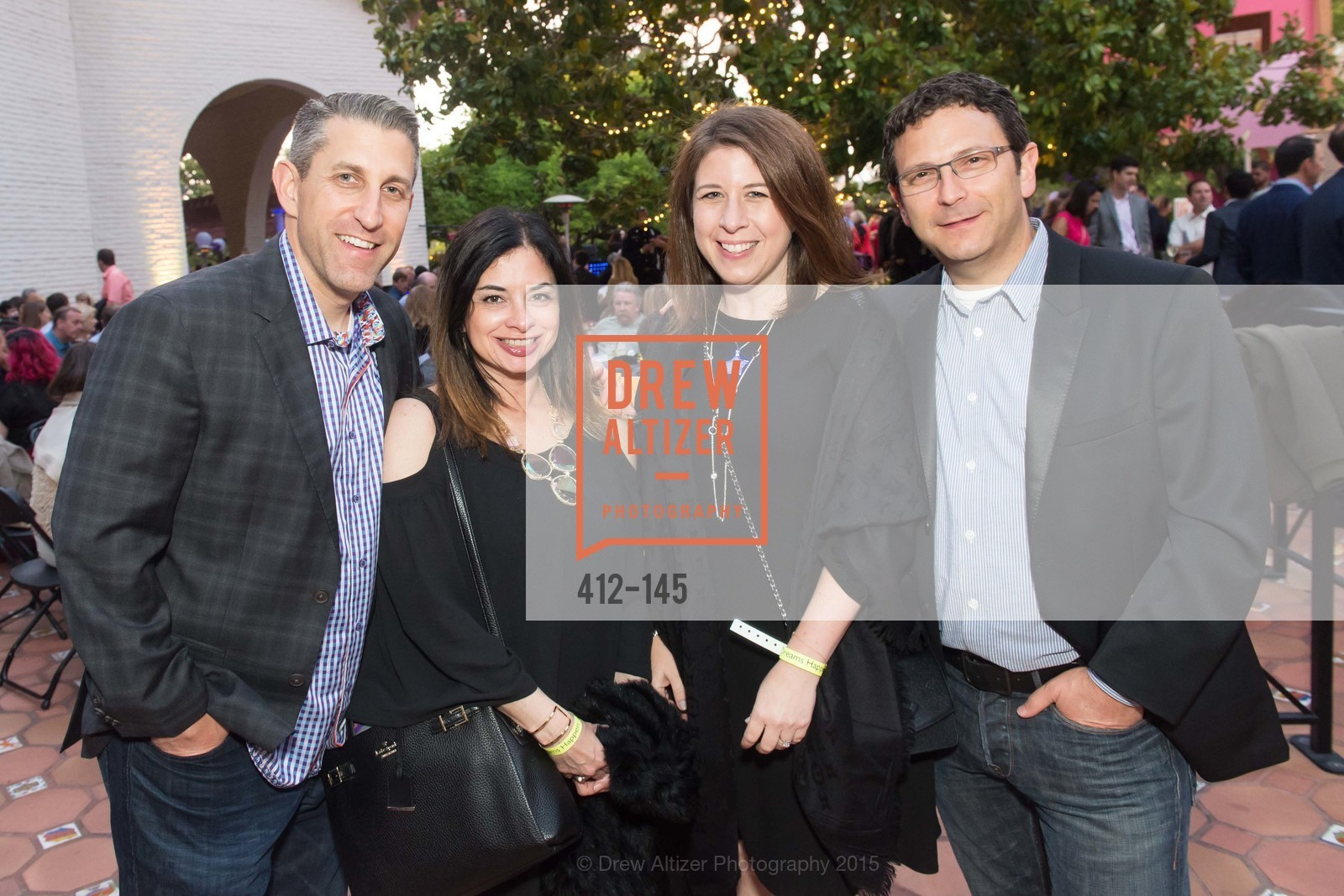 Greg Zeldin, Sheila Zeldin, Dana Zeldin, Tad Zeldin, DREAMS HAPPEN: Playhouse Auction and Gala, Stanford Shopping Center, June 5th, 2015,Drew Altizer, Drew Altizer Photography, full-service agency, private events, San Francisco photographer, photographer california