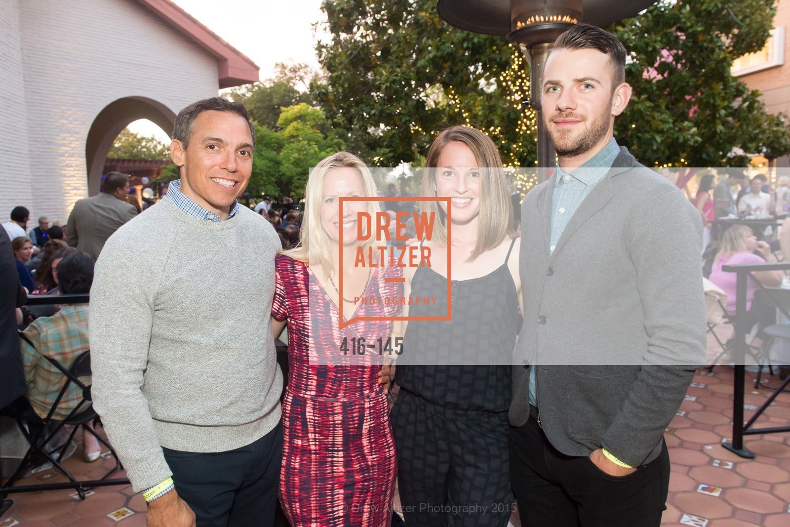 Tim Chappelle, Denise Chappelle, Tara Bownman, Matt Wiebe, DREAMS HAPPEN: Playhouse Auction and Gala, Stanford Shopping Center, June 5th, 2015,Drew Altizer, Drew Altizer Photography, full-service agency, private events, San Francisco photographer, photographer california
