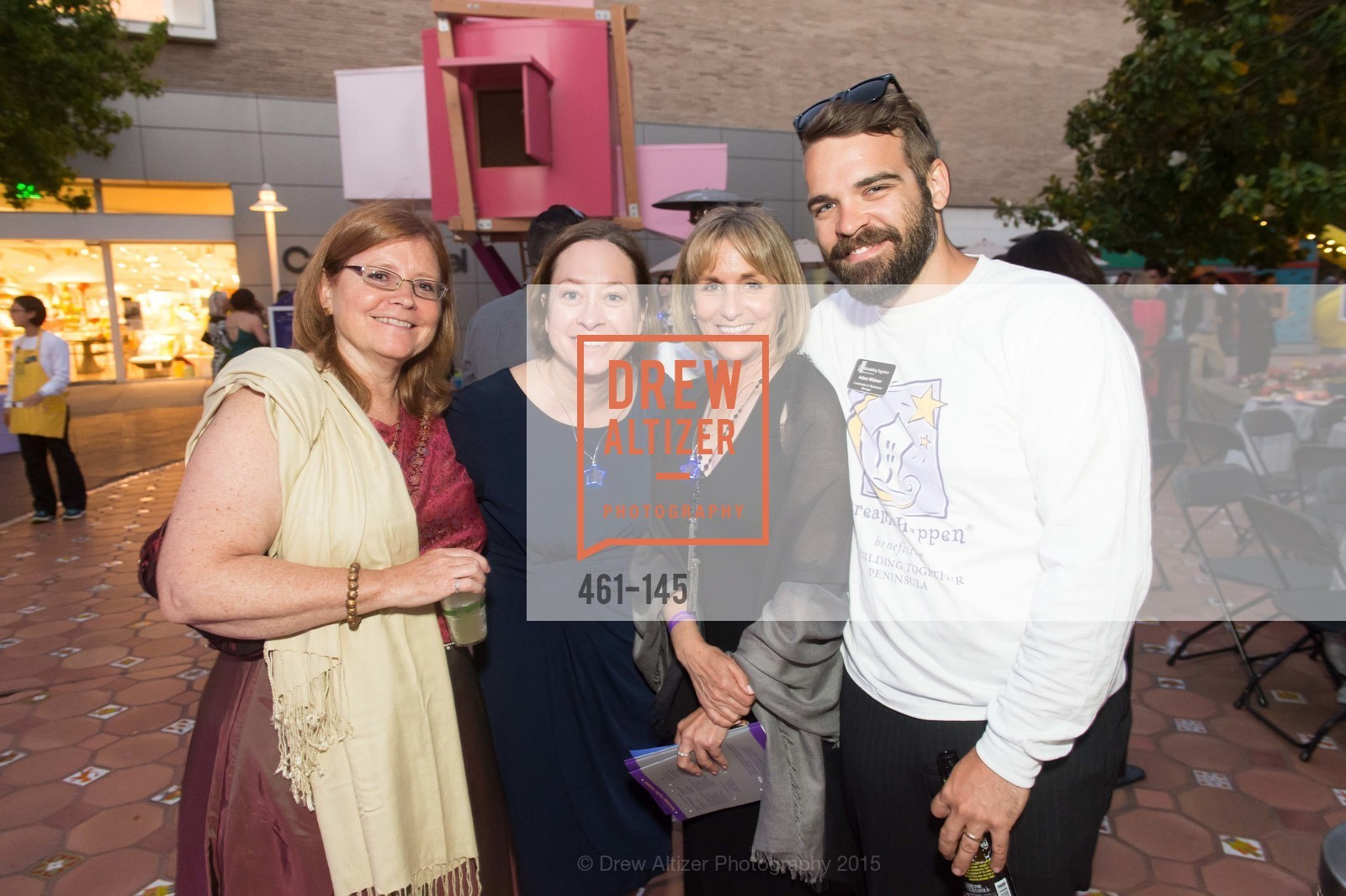 Miranda Anders, Seana O'Shaughnessy, Julie Kelly, Adam Widmer, DREAMS HAPPEN: Playhouse Auction and Gala, Stanford Shopping Center, June 5th, 2015,Drew Altizer, Drew Altizer Photography, full-service agency, private events, San Francisco photographer, photographer california