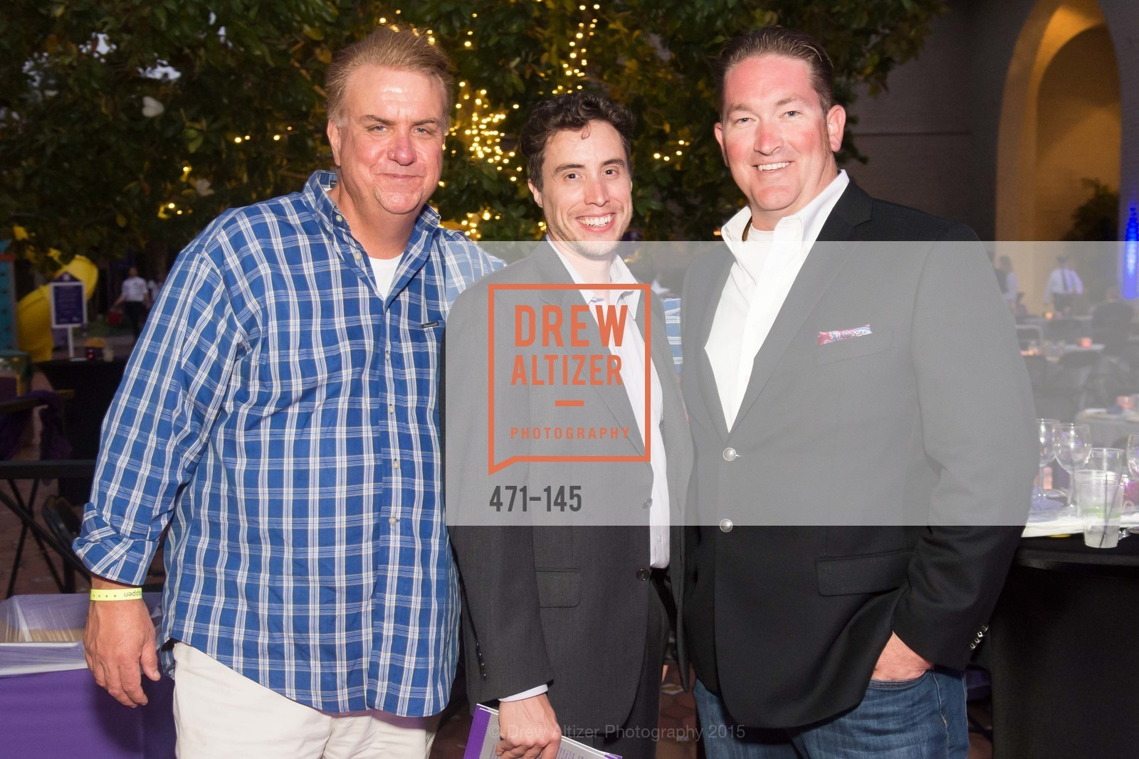 Mike Fox, Curtis Kluet, Dave Bragg, DREAMS HAPPEN: Playhouse Auction and Gala, Stanford Shopping Center, June 5th, 2015,Drew Altizer, Drew Altizer Photography, full-service agency, private events, San Francisco photographer, photographer california