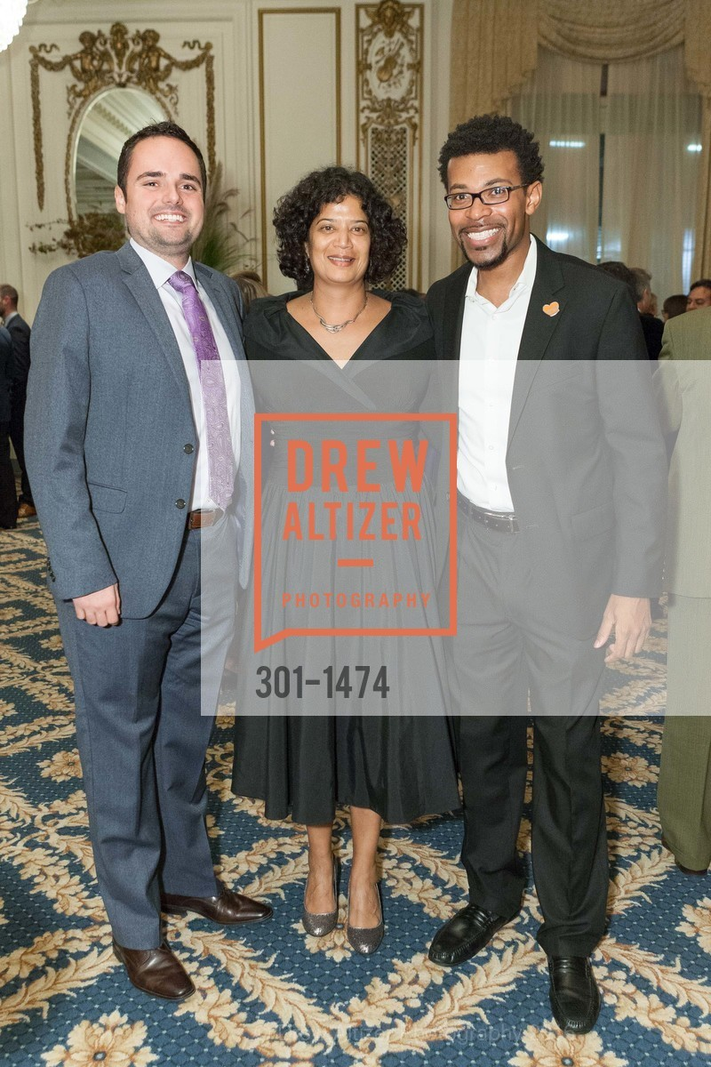 Jimmy San Marco, Shireen McSpadden, Rev. Theon Johnson, Photo #301-1474
