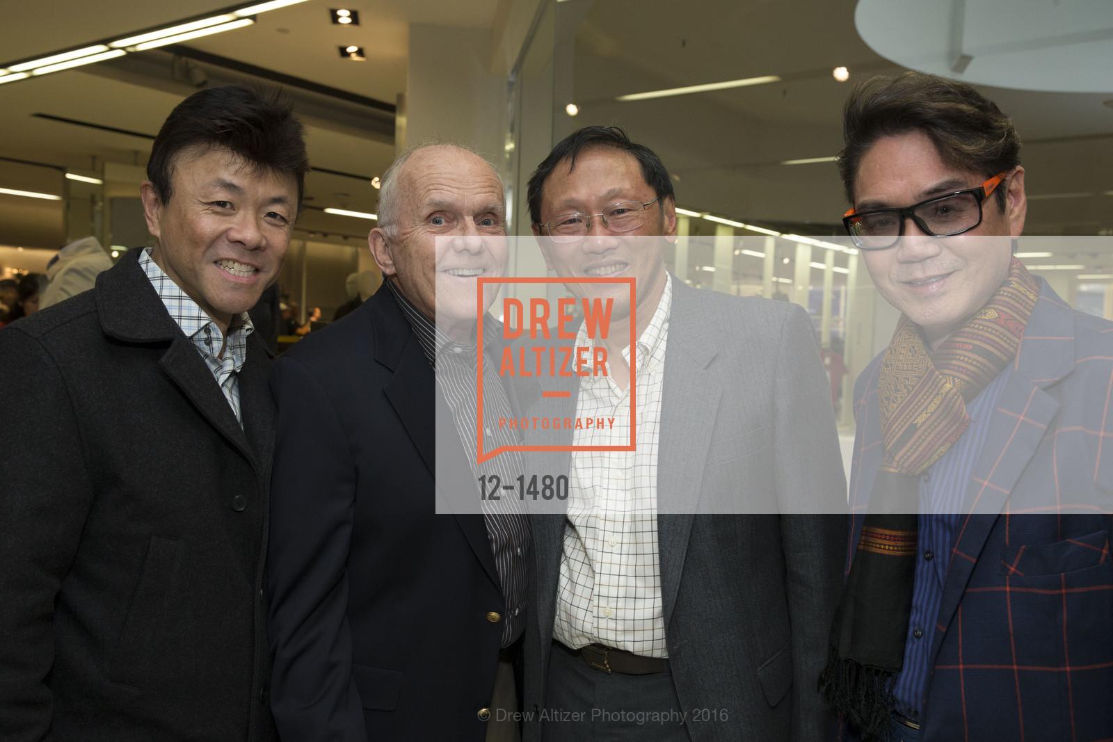 Fred Dea, Bob Highsmith, Jim Bouy, Lawrence Wong, Photo #12-1480