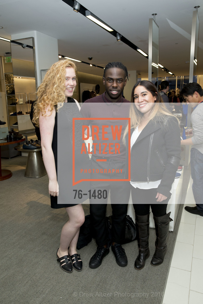 Kendall Anderson, Sidney Moiwa, Mimi Ruiz, Photo #76-1480
