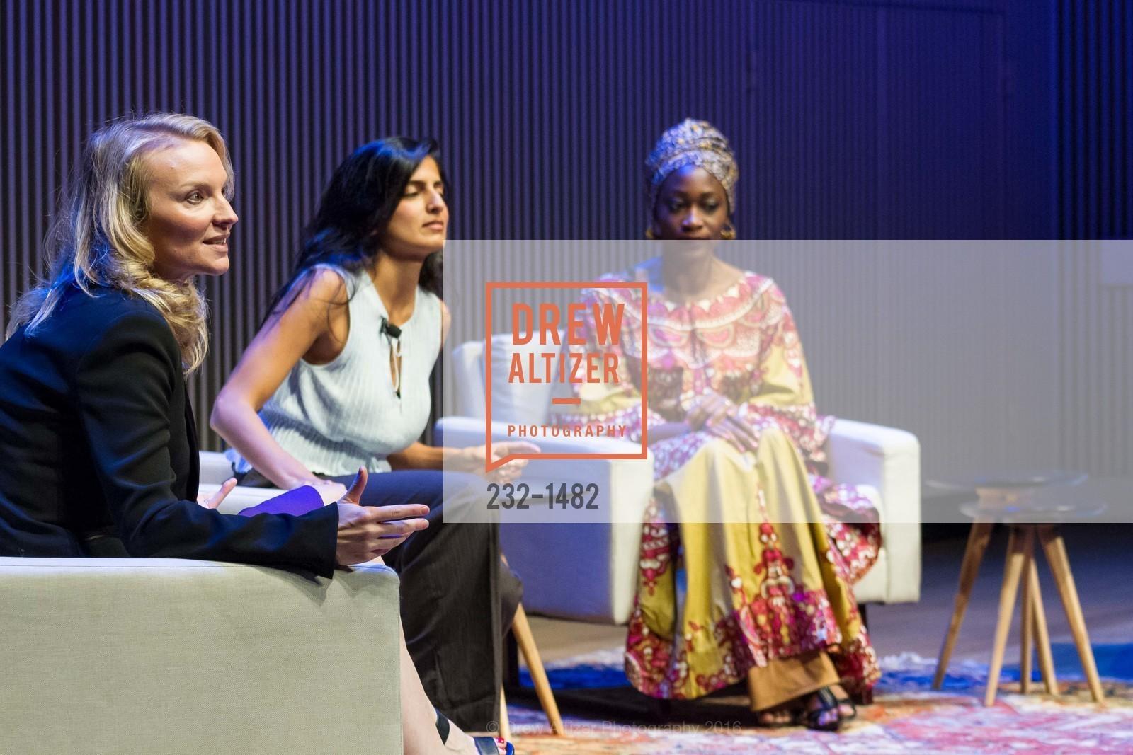 Alysee Nelson, Akanksha Hazari, Hafsat Abiola-Costello, Photo #232-1482