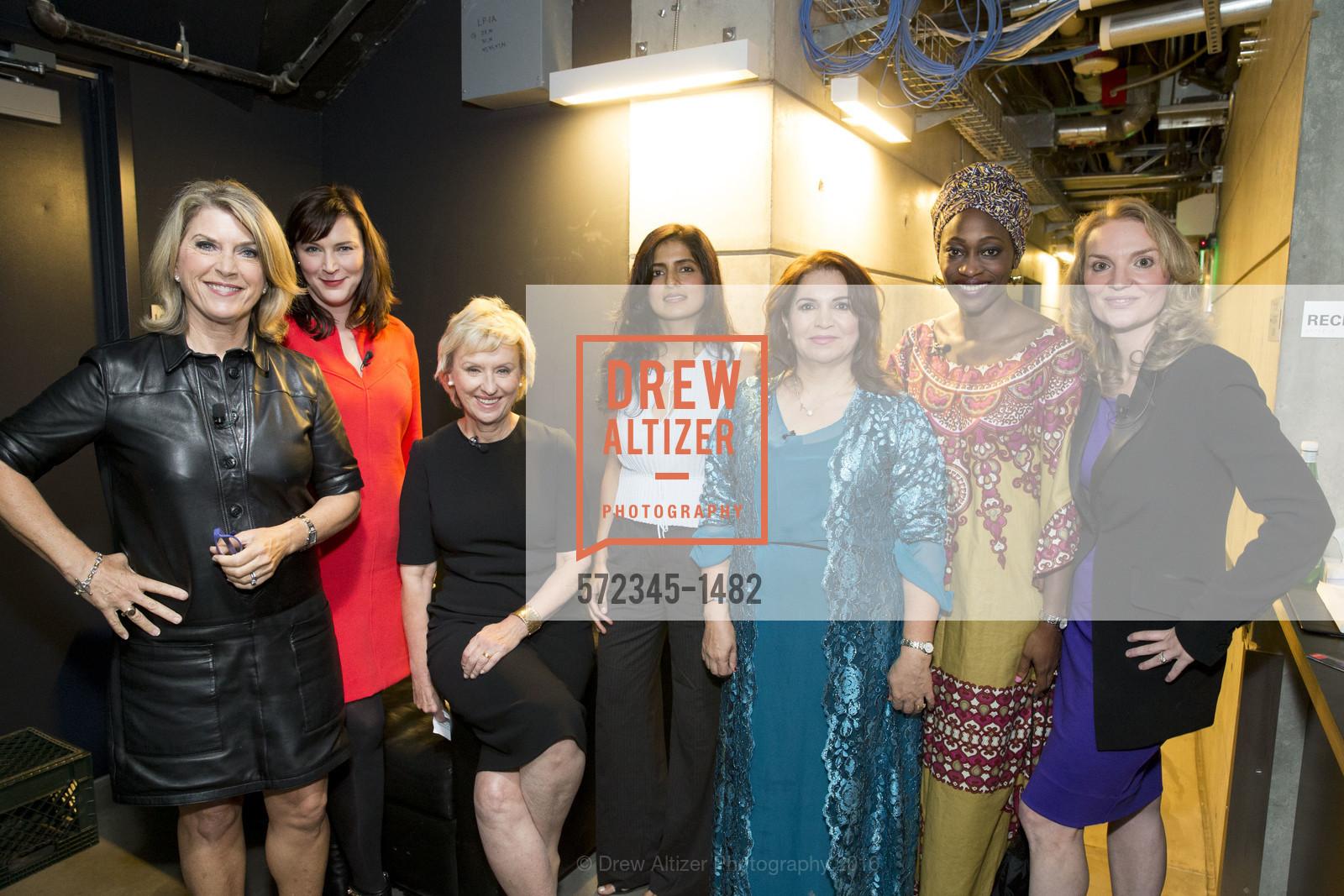 Kathleen Matthews, Audrey Cooper, Tina Brown, Akanksha Hazari, Khanim Latif, Hafsat Abiola, Alyse Nelson, Photo #572345-1482