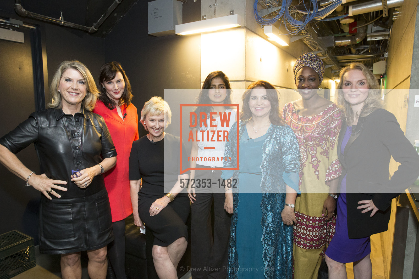 Kathleen Matthews, Audrey Cooper, Tina Brown, Akanksha Hazari, Khanim Latif, Hafsat Abiola, Alyse Nelson, Photo #572353-1482