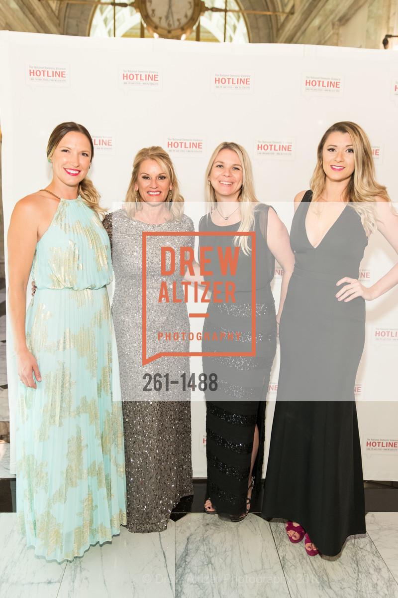 Julie Downing, Linda DelRio, Marnie Vieselmeyer, Annelie Schmittel, Photo #261-1488