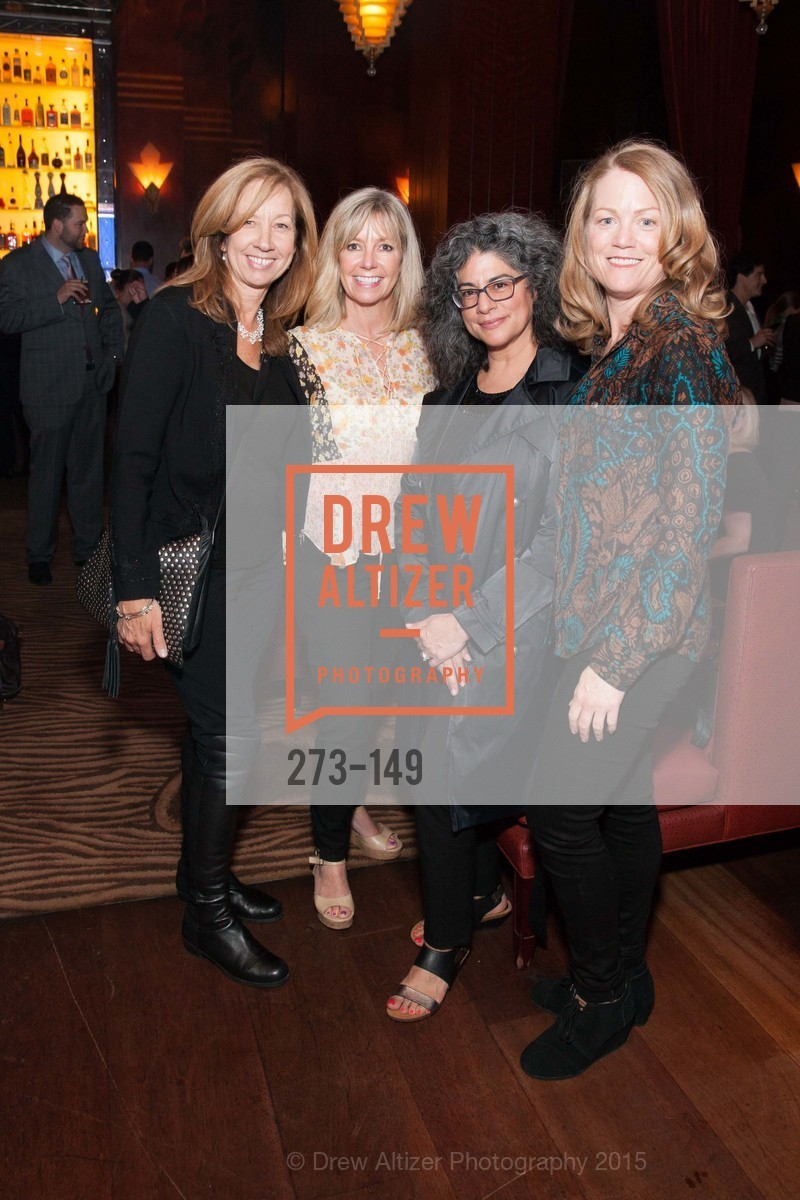 Elaine Claros, Debbie Jokovich, Liz Trysogle, Ann Sullivan, CLIFT San Francisco Celebrates 100 Years, Clift Hotel, Redwood Room and Velvet. 495 Geary St, June 3rd, 2015,Drew Altizer, Drew Altizer Photography, full-service agency, private events, San Francisco photographer, photographer california