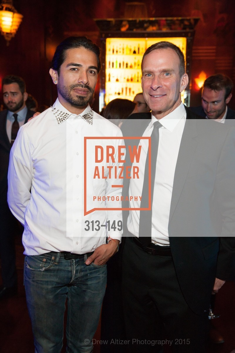David Diegos, Charles Scott, CLIFT San Francisco Celebrates 100 Years, Clift Hotel, Redwood Room and Velvet. 495 Geary St, June 3rd, 2015,Drew Altizer, Drew Altizer Photography, full-service agency, private events, San Francisco photographer, photographer california