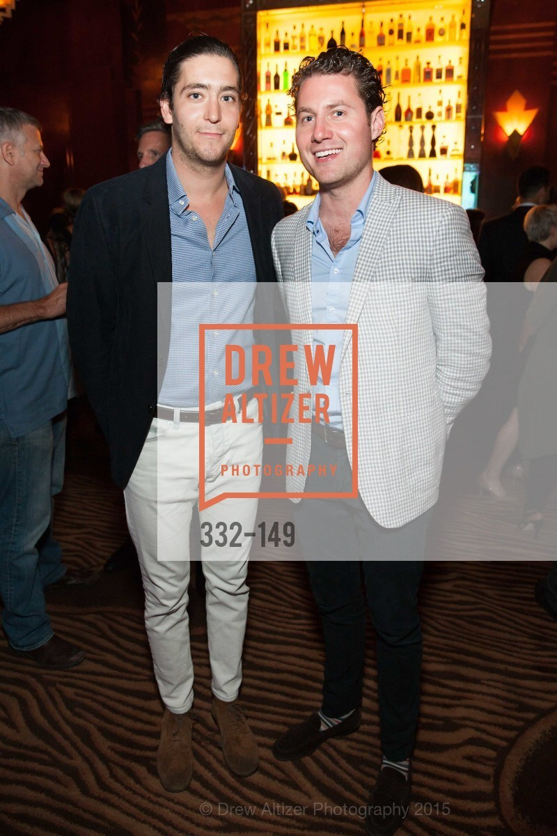 Miles Garrigues, Alex Stix-Brunell, CLIFT San Francisco Celebrates 100 Years, Clift Hotel, Redwood Room and Velvet. 495 Geary St, June 3rd, 2015,Drew Altizer, Drew Altizer Photography, full-service agency, private events, San Francisco photographer, photographer california