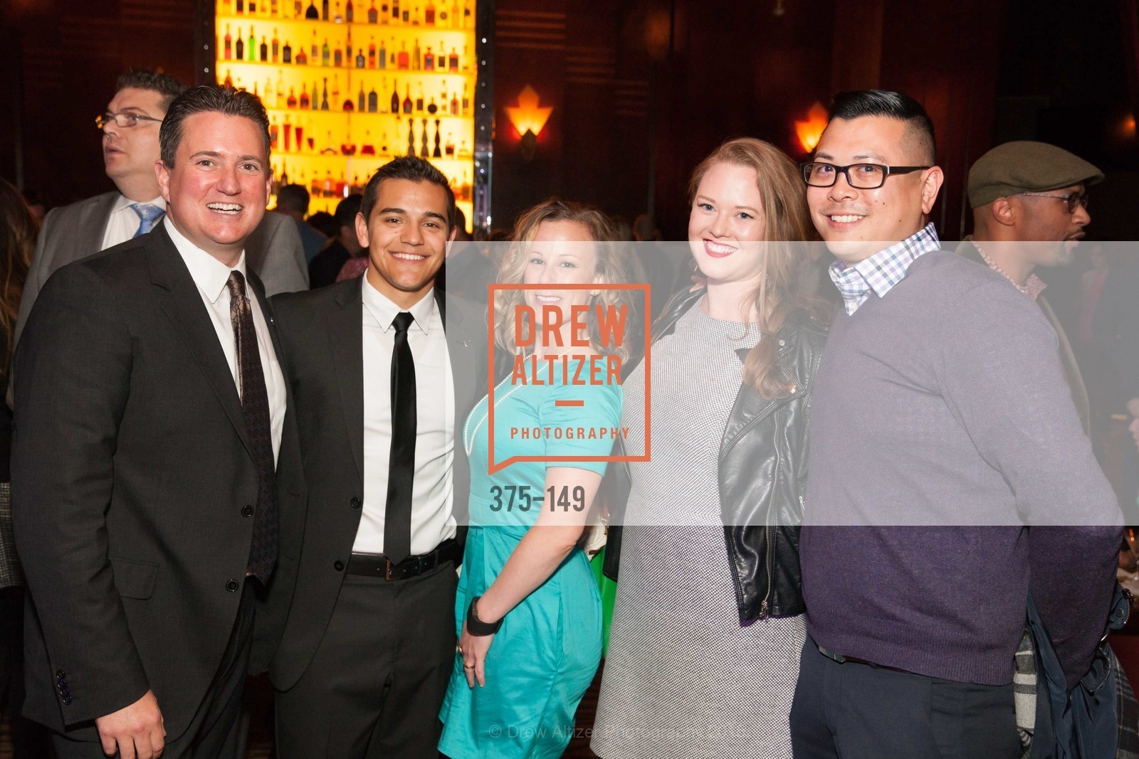 Robert Bondanza, Brendan Dolby, Courtney Bracken, Sarah Newton, Tim Wong, CLIFT San Francisco Celebrates 100 Years, Clift Hotel, Redwood Room and Velvet. 495 Geary St, June 3rd, 2015,Drew Altizer, Drew Altizer Photography, full-service agency, private events, San Francisco photographer, photographer california