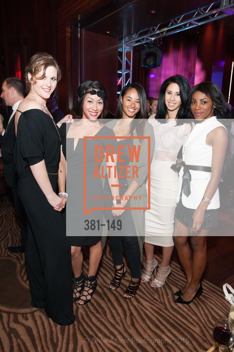 Randi Davis, Dana Ngo, Mercedes Hawkins, Carlie Hammell, Nadine Oluwole, CLIFT San Francisco Celebrates 100 Years, Clift Hotel, Redwood Room and Velvet. 495 Geary St, June 3rd, 2015,Drew Altizer, Drew Altizer Photography, full-service agency, private events, San Francisco photographer, photographer california