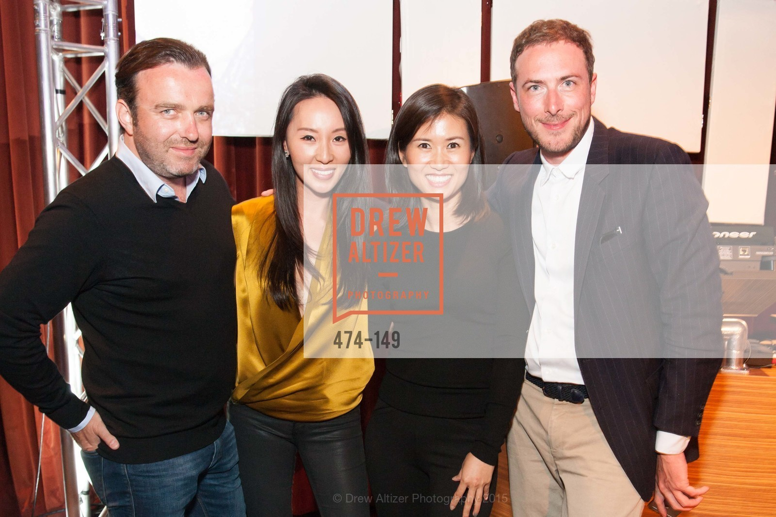 Eric Flour, Anny Hong, Susie Park, Herold Barard, CLIFT San Francisco Celebrates 100 Years, Clift Hotel, Redwood Room and Velvet. 495 Geary St, June 3rd, 2015,Drew Altizer, Drew Altizer Photography, full-service event agency, private events, San Francisco photographer, photographer California