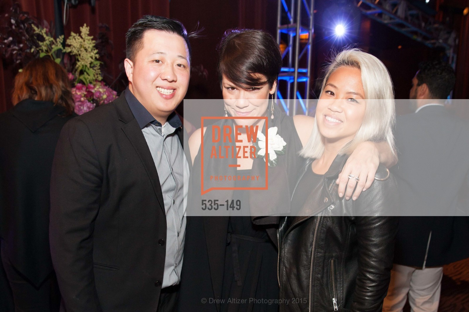 Jordan Wong, Melisa Galvan, Nicole Pham, CLIFT San Francisco Celebrates 100 Years, Clift Hotel, Redwood Room and Velvet. 495 Geary St, June 3rd, 2015,Drew Altizer, Drew Altizer Photography, full-service agency, private events, San Francisco photographer, photographer california